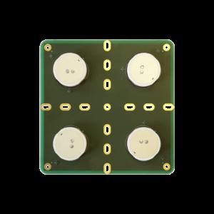 NTL-AJA2-OEM Dual band antenna array for Anti-Jamming