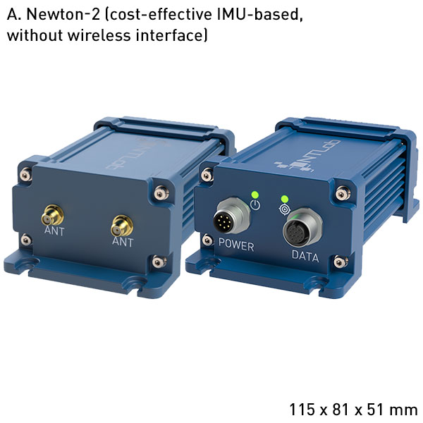 Newton-2 High performance GNSS + INS integrated system with Heading and supporting RTK and PPP technologies A