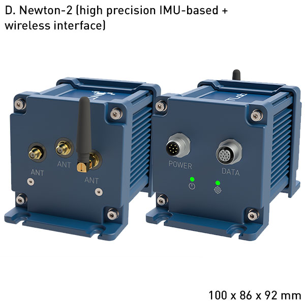 Newton-2 High performance GNSS + INS integrated system with Heading and supporting RTK and PPP technologies D