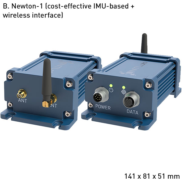 Newton-1 High performance GNSS+INS integrated system supporting RTK and PPP technologies B